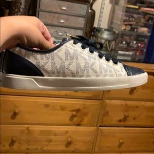 Michael Kors Blue Sneakers